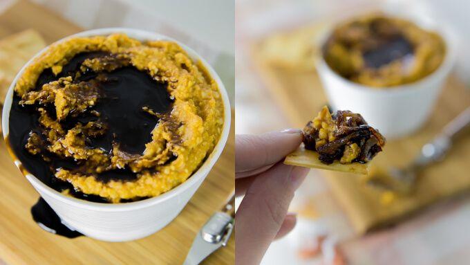 skinnymixer's Balsamic Sweet Potato Dip