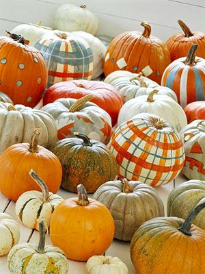 I need to paint some pumpkins!!! - Love this idea!: Fall Pumpkin, Ideas, Fall Decor, Pumpkin Decor, Painted Pumpkins, Paintings Pumpkin, Pumpkin Paintings, Pumpkin Patches, Pumpkindecor