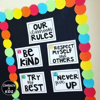 Classroom Rules Freebie This download includes the classroom rules we posted on Instagram 6/23/2017. A sweet follower asked about these posters, so we made them available on our TpT store for other teachers to be able to download, as well. Enjoy - and Happy Teaching!