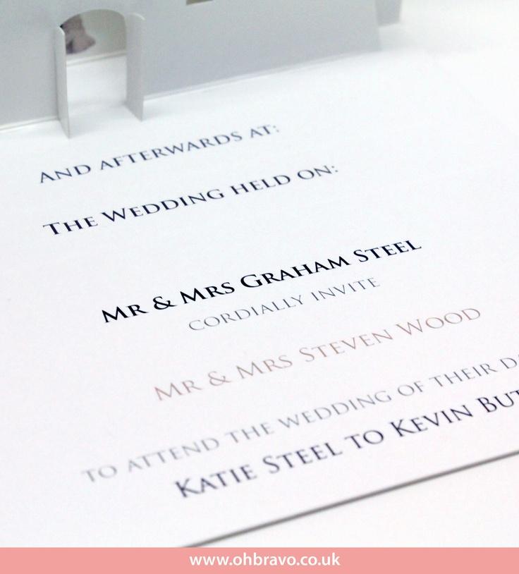 Church wedding invite detail 3 - www.ohbravo.co.uk