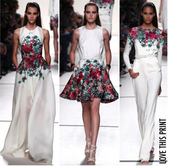 A primavera do Elie Saab