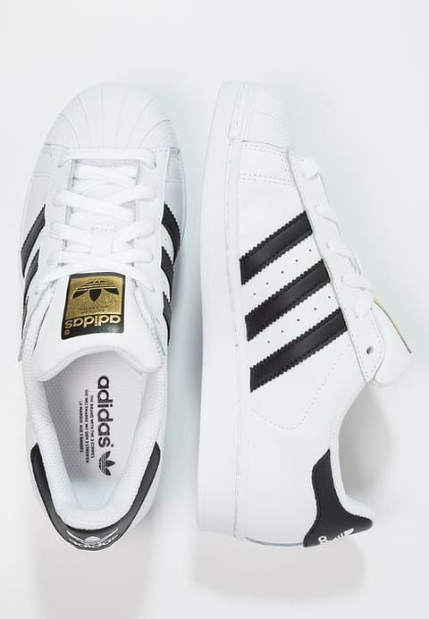 adidas Originals SUPERSTAR - Baskets basses - white/core black - ZALANDO.FR