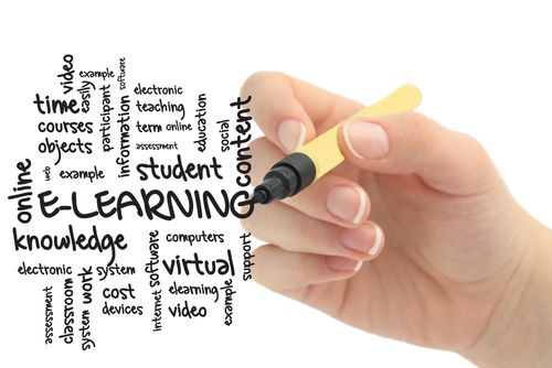 #E-learning today is one of the most important ways of learning anything we want to. E-learning is using technology to deliver training and education at any time and at any place