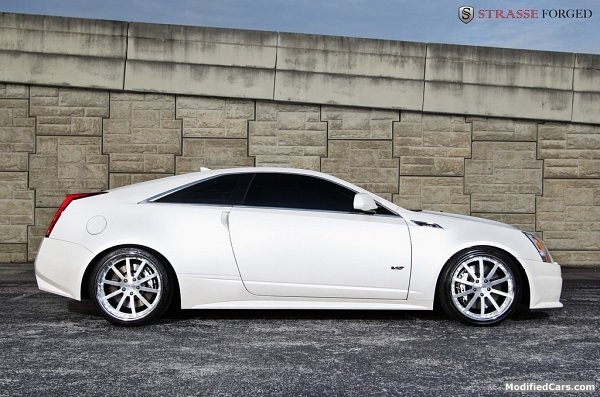 Cadillac CTS V-coupe