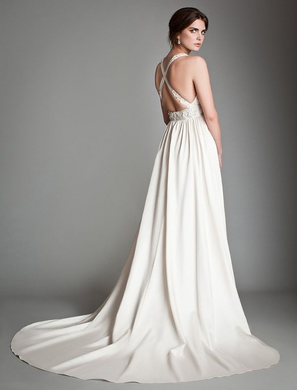 Temperley_London Spring 2014 Bridal Collection - Lavender back