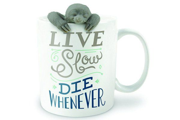 Fred Two For Tea Sloth Mug With Infuser