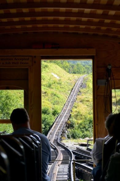 Mount Washington Cog Railway, NH (Железная Дорога на Гору Вашингтон, Нью-Гэмпшир)