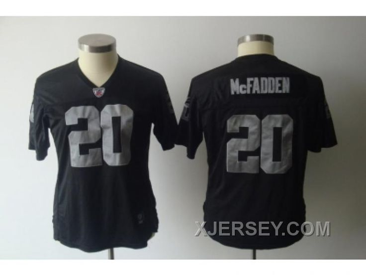 http://www.xjersey.com/women-nfl-oakland-raiders-20-mcfadden-black-new-arrival.html WOMEN NFL OAKLAND RAIDERS #20 MCFADDEN BLACK NEW ARRIVAL Only 32.17€ , Free Shipping!