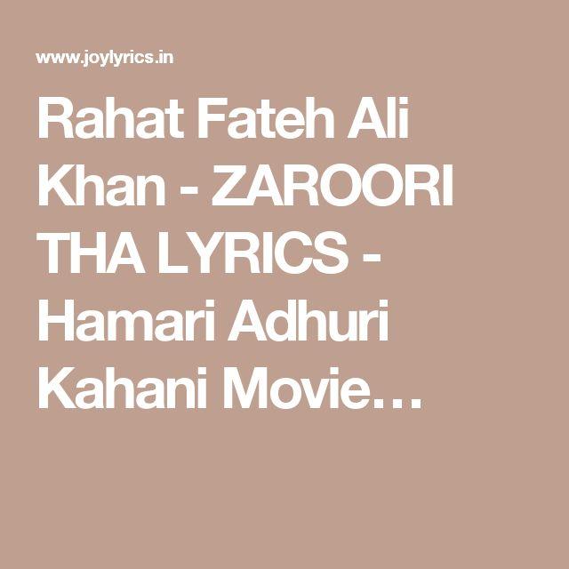 25+ best ideas about Rahat Fateh Ali Khan on Pinterest : Kareena kapoor songs, Hindi old songs ...