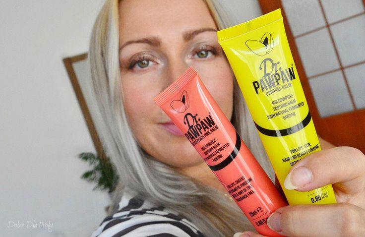 Dr. PAWPAW uniwersalne produkty do ust, skory, paznokci i włosów - multifunkcyjne balsamy Original Balm, Pink Balm