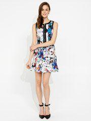 Broken Floral Dress