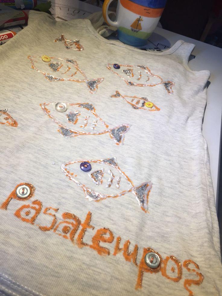 Pasatempos collection ! Handmade t shirt!