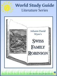 World Study Guide: Literature Series - Swiss Family Robinson - World for Learning | CurrClick: Book Club, Homeschool Swag, Swiss Families Robinson, Literature Lapbook, Literature Series, Study, Homeschool Idea, Homeschool Literature, Homeschool Stuff