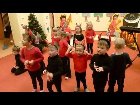 Vánoční čertovská besídka - YouTube