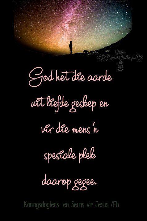 Christelike Boodskappies: GOD  HET  ALLES  GEMAAK