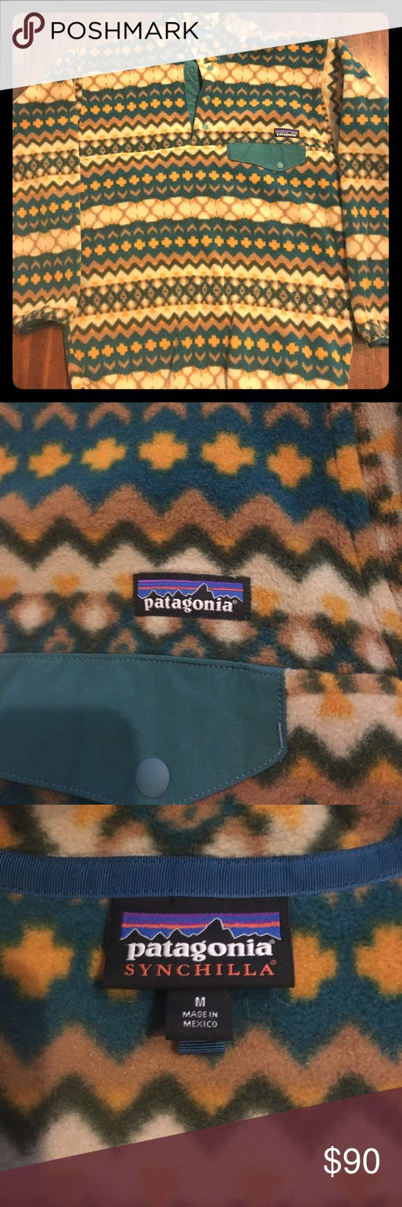 Men's Patagonia Synchilla For sale is a Men's Medium Patagonia Synchilla. It is in excellent condition, hardly worn. Patagonia Sweaters