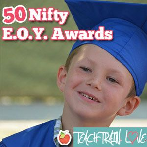 50 award ideas along with a FREE, printable end-of-the-year certificate that can be adapted to your needs...  :-)