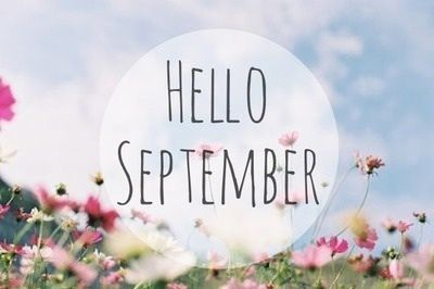Oi, setembro.