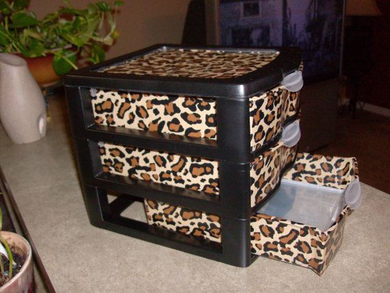 Duct Taped Organizer? I might have a new idea for makeup storage, but I'm gonna have to get two if it's gonna be for my makeup haha