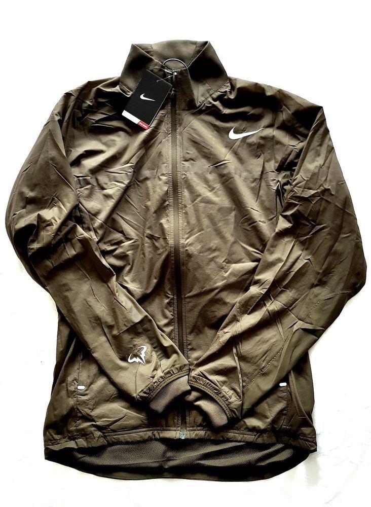 b85bec1ddfc5 NIKE RAFA NADAL PREMIER DRI-FIT TENNIS WOVEN JACKET 546525 FEDERER MEN S NEW  S  Nike  Jackets