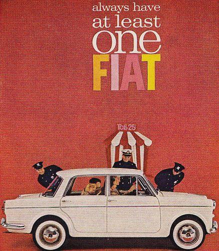1962 FIAT Ad