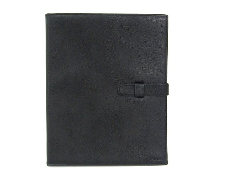 #PRADA Pad Case for 9.7 inch model Saffiano Leather Nero (BF304596) #eLADY global offers free shipping worldwide. For more pre-owned luxury brand items, visit http://global.elady.com