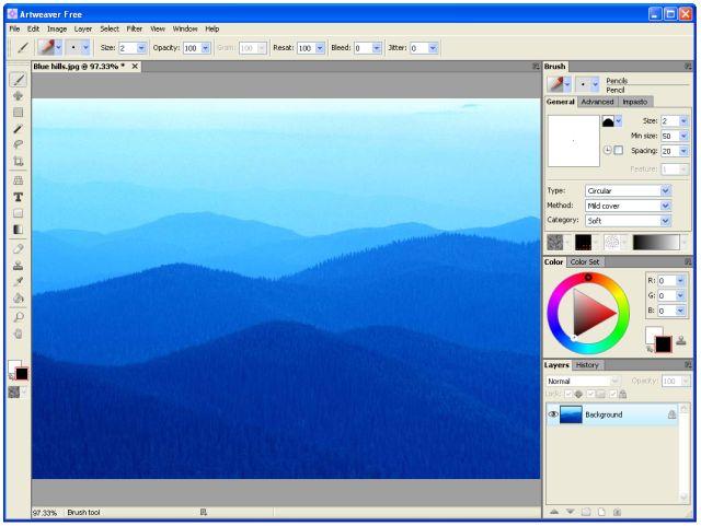 Forget Photoshop, Edit Your Photos With These Top Free Photo Editors: Artweaver Free