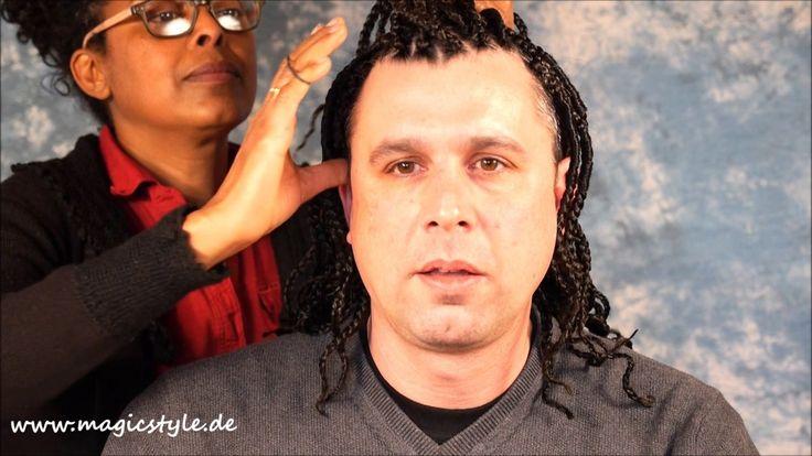 Michael: Rastazöpfe mit Undercut - mit Stylingtipp von Abrehet