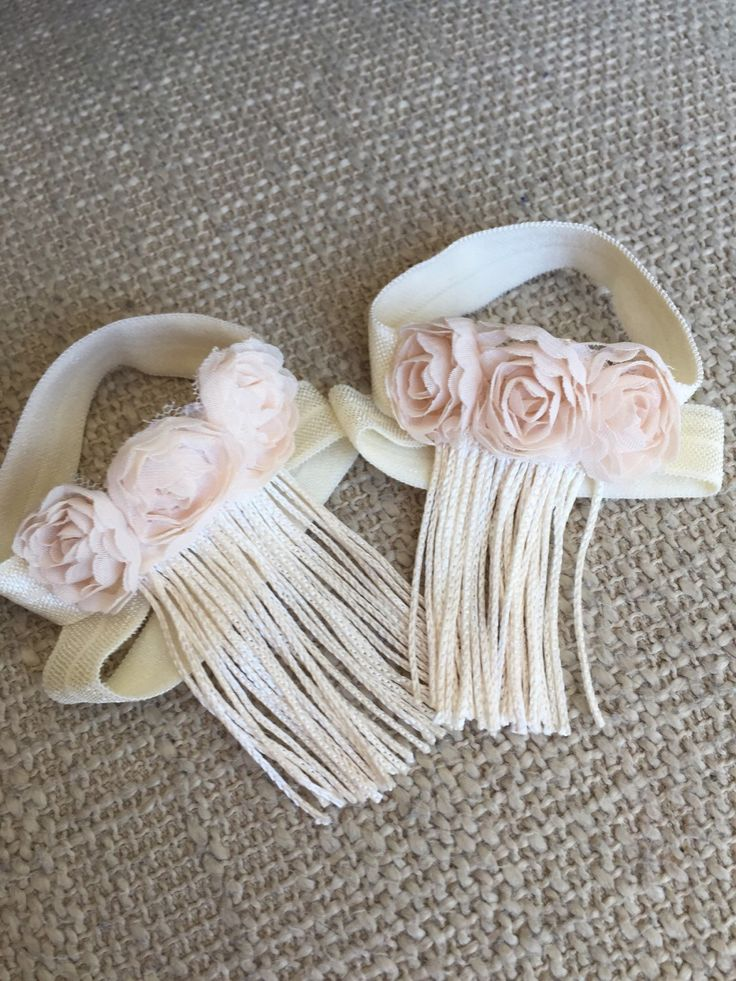 Ivory Baby Girl Sandals, Ivory Baby Barefoot Sandals, Fringe Baby Sandals, Ivory Baby Shoes, Cream Baby Shoes, Christening Shoes by MyThreeSweetCheeks on Etsy https://www.etsy.com/listing/292144101/ivory-baby-girl-sandals-ivory-baby