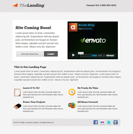 14 best Landing Page Designs images on Pinterest Page template - lpo template word