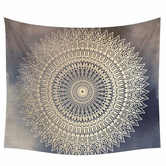 17 meilleures id es propos de tapisseries hippie sur for Decoration murale mandala