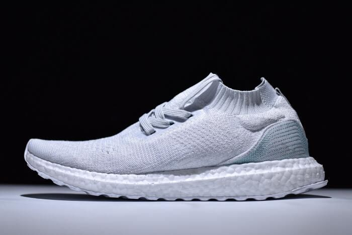9695413441f45 Discount Parley x adidas Ultra Boost Mid White Light Blue Online ...
