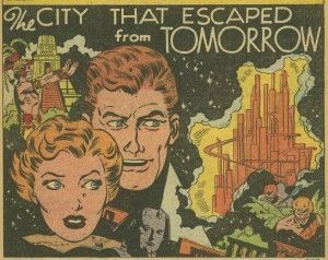 The city that Escaped From Tomorrow - preintermediate reader