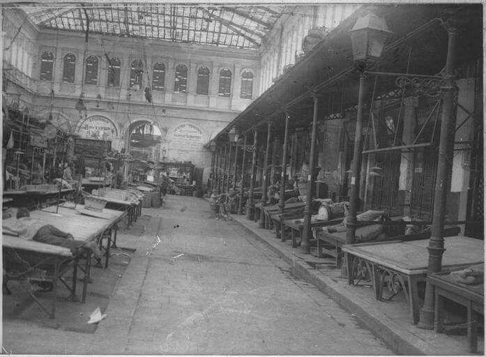 Αθηνα, Αγορα 1917