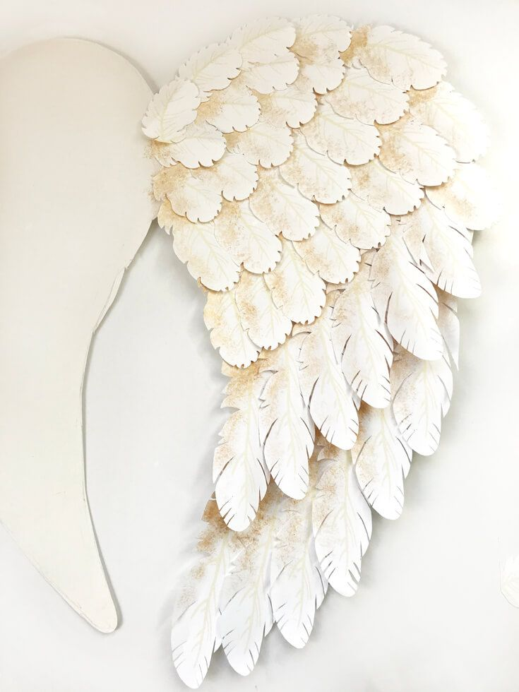 Holiday Angel Wing Tutorial Parties With A Cause Diy Angel Wings Angel Wing Crafts Holiday Angel