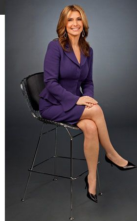 Carol Costello anchors the 9 a.m. to 11 a.m. (ET) edition of CNN Newsroom each weekday.  I used to write for her, once upon a time...