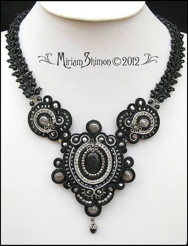 Black Delilah Soutache necklace | Flickr - Photo Sharing!