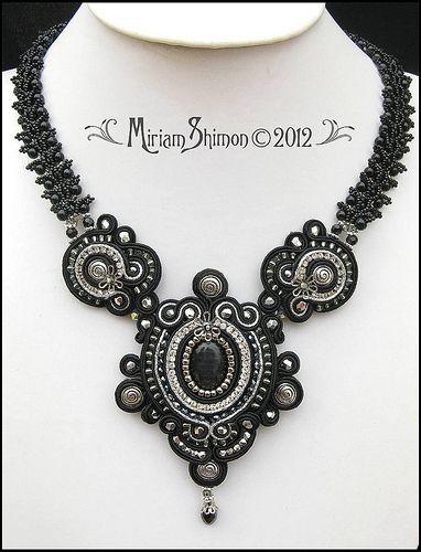 Black Delilah Soutache necklace | Flickr - Photo Sharing!