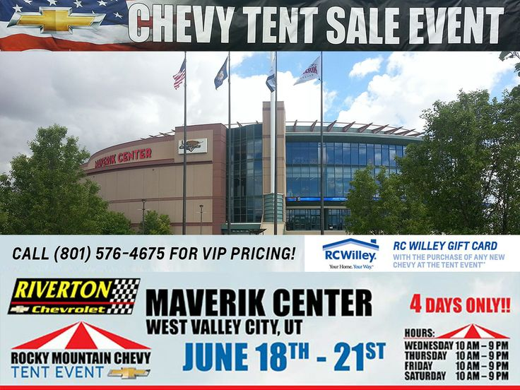Itu0027s a beautiful day at the Rocky Mountain Chevy Dealers Tent Event! We have over & 8 best 2014 Rocky Mountain Chevy Tent Event images on Pinterest ...