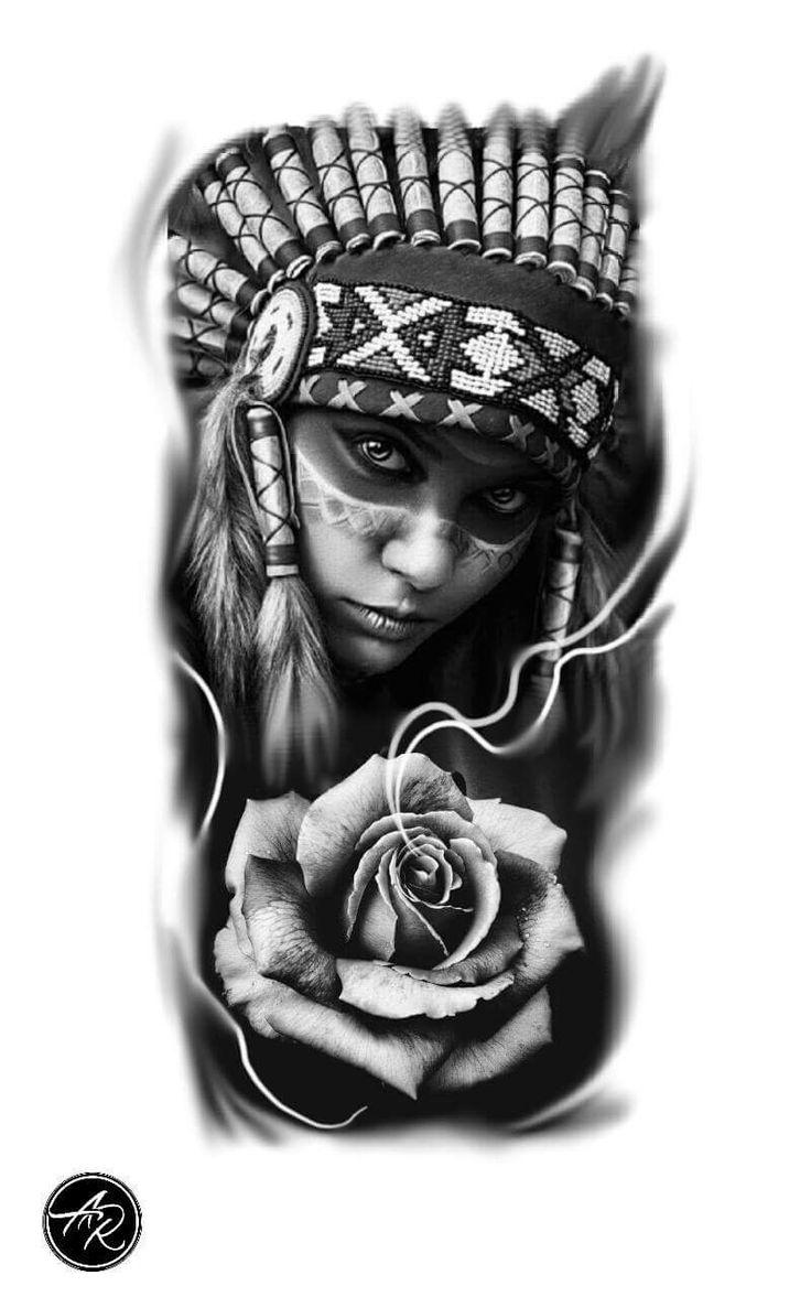Índia tatuagem de índia
