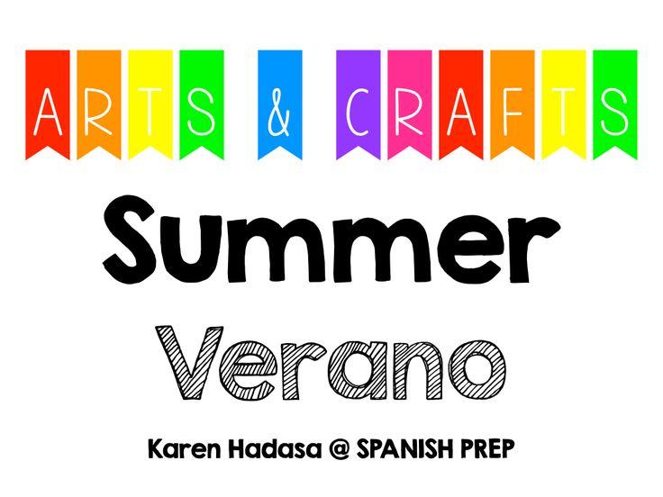 Pinterest Board: Arts & Crafts - Summer / Verano
