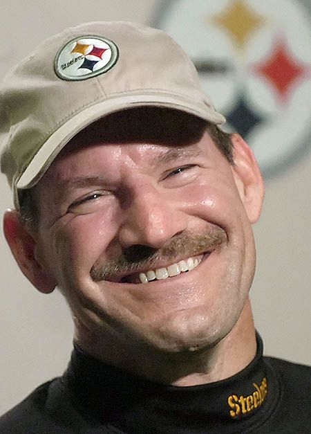 PITTSBURGH STEELERS~Coach Bill Cowher---great photo of Bill!!                                                                                                                                                      More