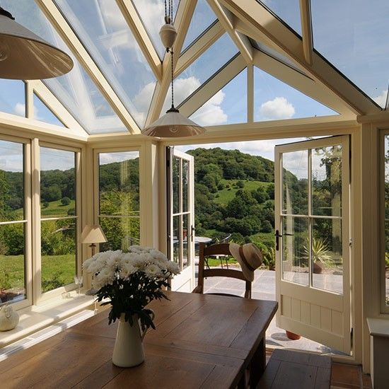 17 images about sunroom conservatory on pinterest for Conservatory interior designs
