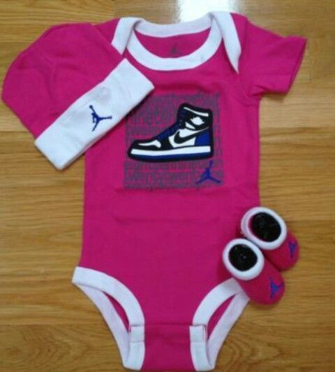 Nike Baby Girl Clothes Simple 22 Best ɮaɮʏ Jօʀɖaռ's Images On Pinterest  Baby Jordans Newborn