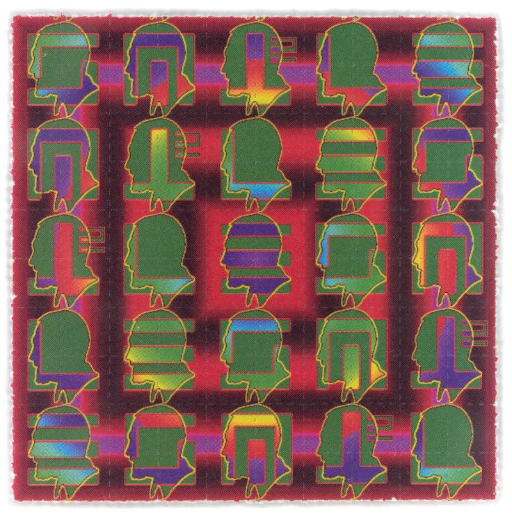 A Look Back at the Psychedelic Art of 1970s LSD Tabs