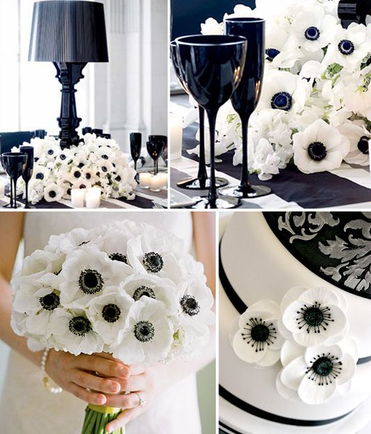 Black White Purple Wedding For Inspiration Board Mobella Events Www
