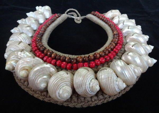 Turbo Shell Necklace Beads Interior Design Feng Shui Women Fashion Home Decor #savageharvest