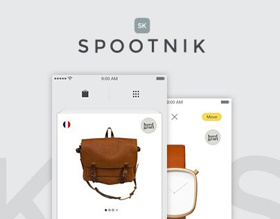 "Check out this @Behance project: ""Spootnik App"" https://www.behance.net/gallery/24464395/Spootnik-App"