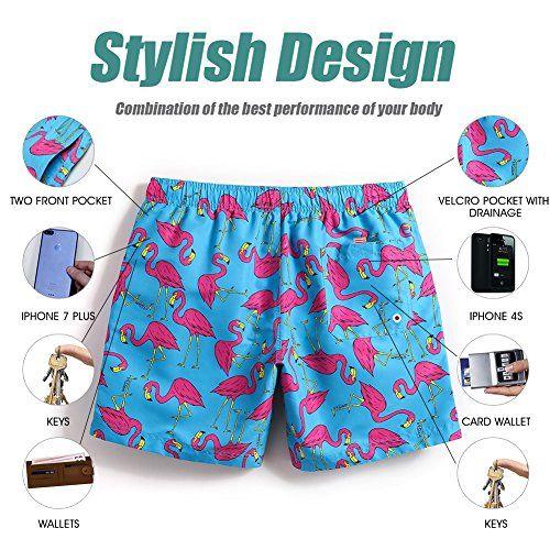 2ce85efcccb757 MaaMgic Mens Slim Fit Quick Dry Short Swim Trunks With Mesh Lining #shorts # swimwear #sleepwear #mens #clothing