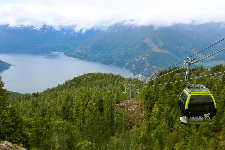 The Sea to Sky Gondola is a lofty lure for visiting nature lovers. Drive north to Squamish on scenic route Sea to Sky Highway.  Image by John Lee / Lonely Planet